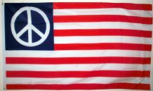 USA PEACE - 5 X 3 FLAG